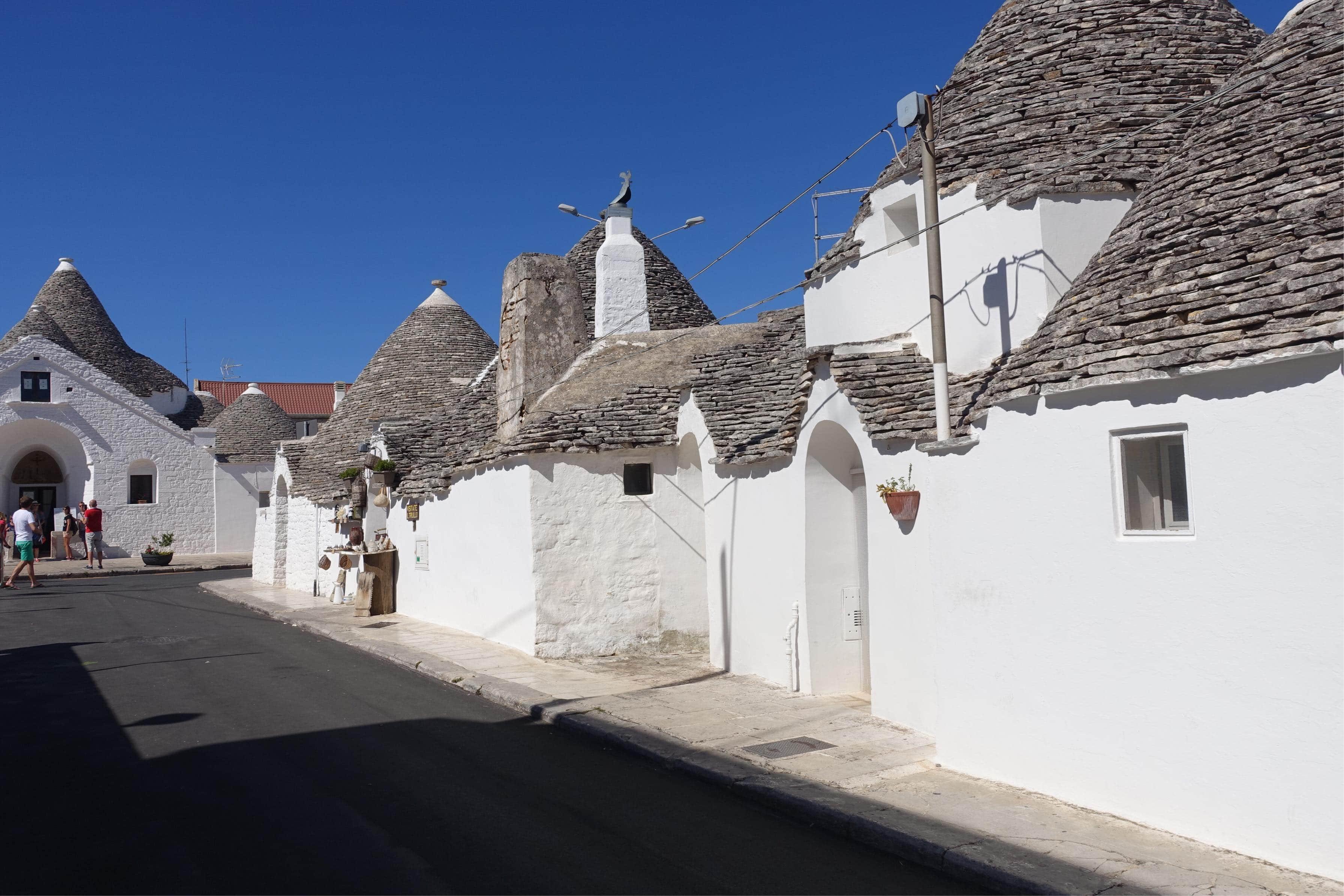 Read more about the article Sur la route des trulli Alberobello