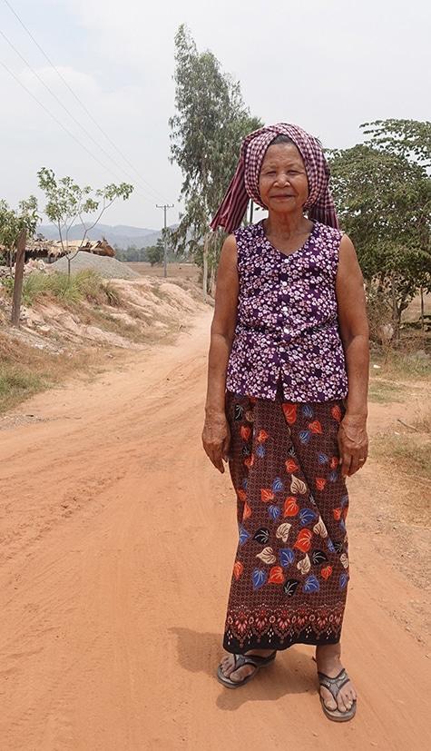 De retour a Phnom Penh
