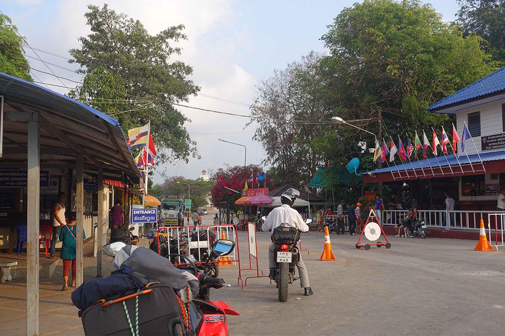 Passage au Cambodge